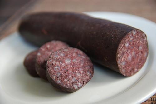 BloodPudding 10 Weird Foods