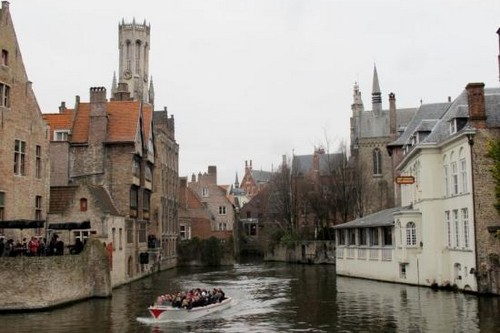 Beautiful Canal Cities Bruges