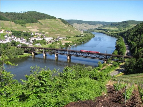 Rhine Valley Line from Mainz to Koblenz