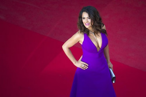 Salma Hayek 2015 Red Carpet