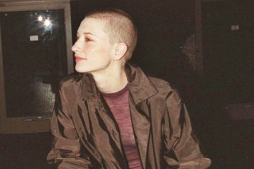 Cate Blanchett Celebs with Bald Head