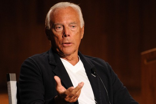 Giorgio Armani Legendary Fashion Designers