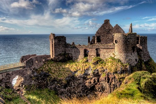 Haunted Castles in Ireland Dunluce Castle