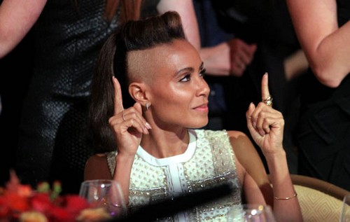 Jada Pinkett Smith Celebs with Bald Head