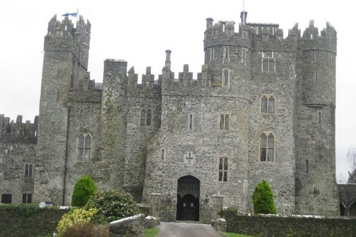 Kilkea Haunted Castles in Ireland