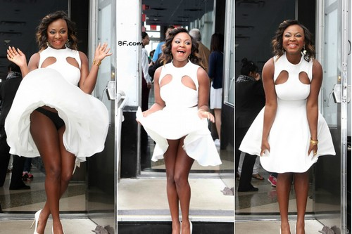 Naturi Naughton Marilyn Monroe Moment