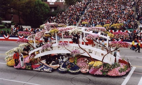 Rose Parade Flower Festivals