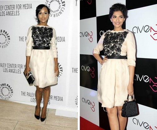 Sonam Kapoor coping Kerry Washington