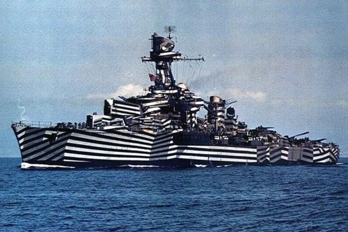 Dazzle Camouflage Obscure Art Movements