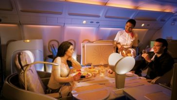 Luxurious Airline Cabins