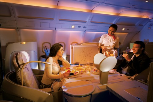 Etihad Luxurious Airline Cabins