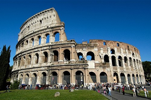 Gorgeous Roman Theatres Colosseum