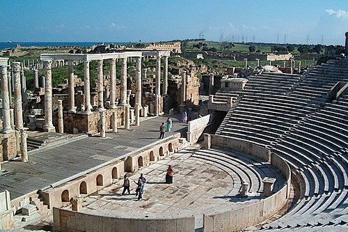 Leptis Magna Amphitheater