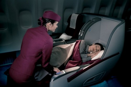 Qatar Airways Luxurious Airline Cabins