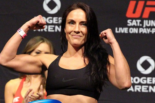 Female Mixed Martial Artists Valerie Letourneau
