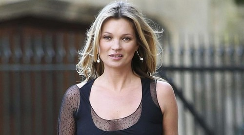 Highest Paid Model Kate Moss