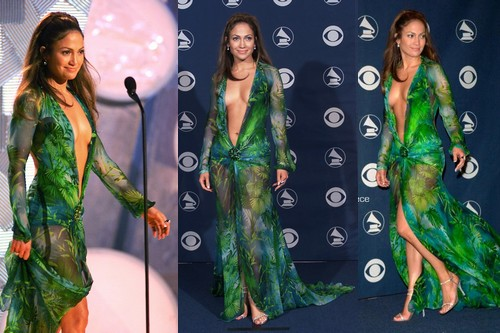 Jennifer Lopez's Grammy Awards dress