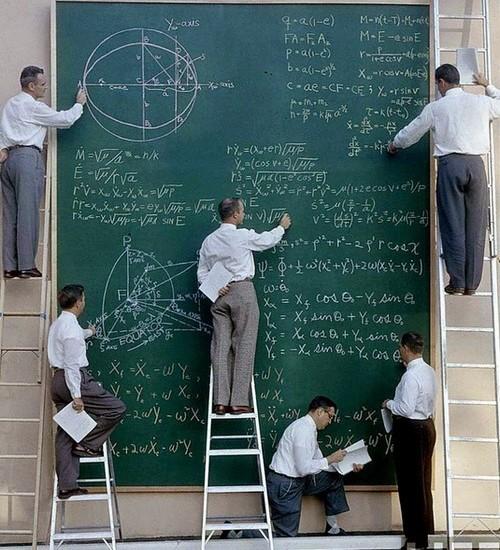 NASA Board Of Calculations
