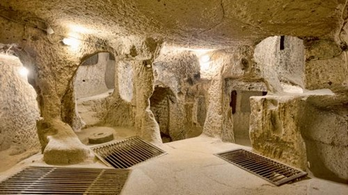 Turkey's underground city of Derinkuyu