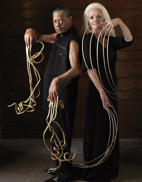 World's Longest Nails