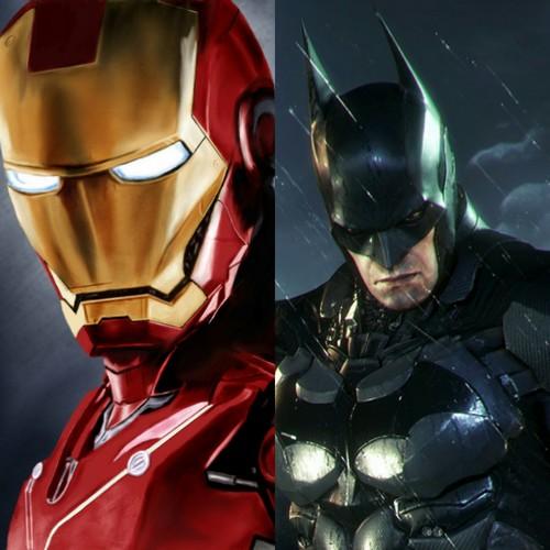 iron man & batman