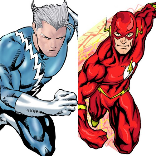 quick silver & the flash