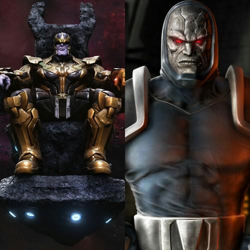 thanos and darkseid