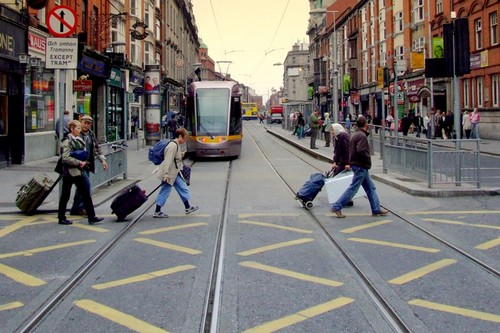 Abbey Street, Dublin, Ireland