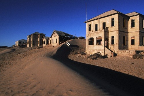 Ghost Town in Desert Kolmanskop