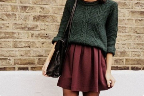 Peppy Skirt Look