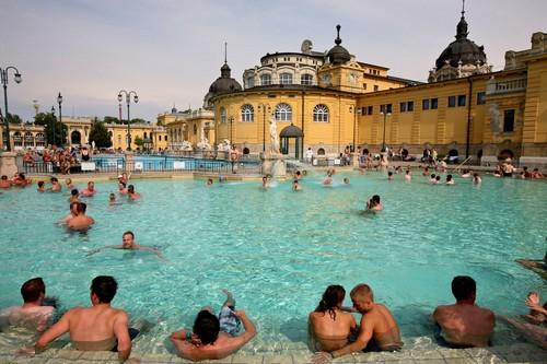 Szecheny Bath Budapest Hungary
