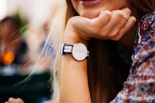 Beautiful Girl with watch