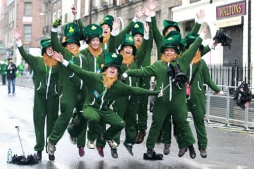 make an Irishman or woman like you