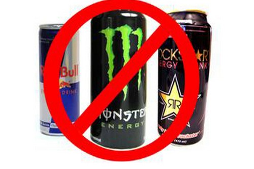 Avoid energy drinks