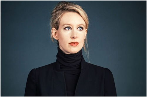 Elizabeth Holmes- most successful businesswomen
