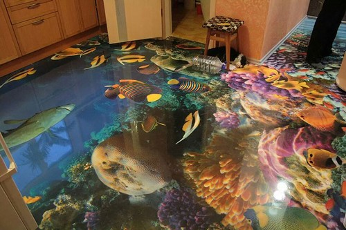 10 Of The Coolest 3d Floors Created With Epoxy