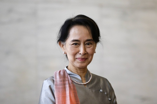 Aung San Suu Kyi Fighting for Human Rights