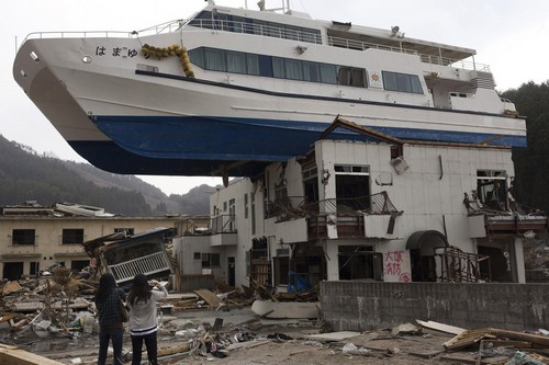 Japan Natural Disaster Tourism