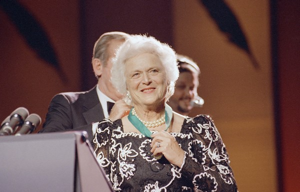 Hottest First Ladies Barbara Bush