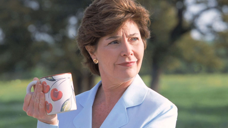 Hottest First Ladies Laura Bush