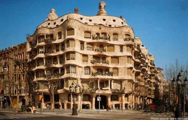 Most Iconic Buildings Casa Mila