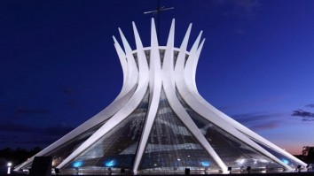 Most Iconic Buildings Cathedral of Brasilia