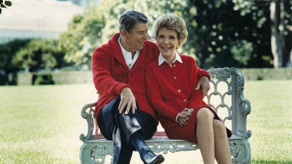 Nancy Reagan-Hottest First Ladies