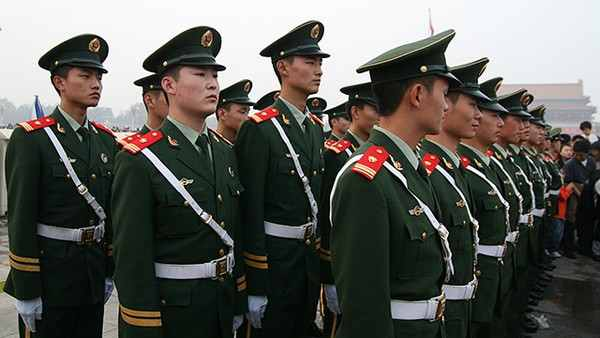 People's Armed Police - China