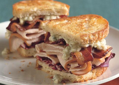Turkey and Chicken Sandwich