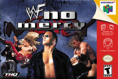 WWE video games WWF No Mercy