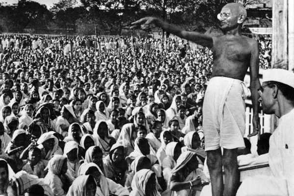 Most Famous Humanitarians Mahatma Gandhi