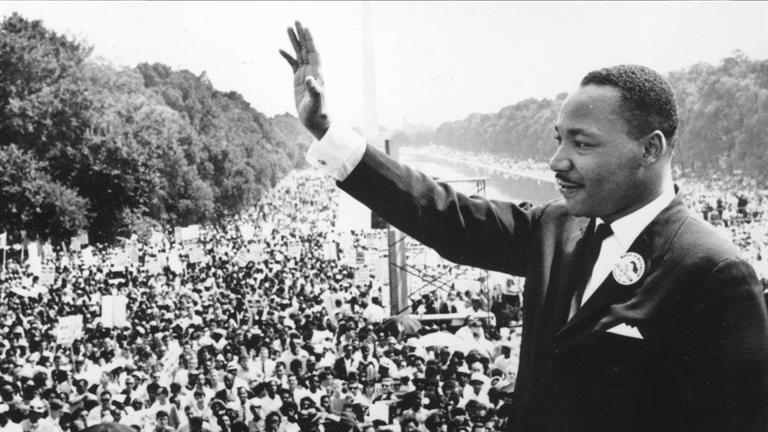 Most Famous Humanitarians Martin Luther King Jr.