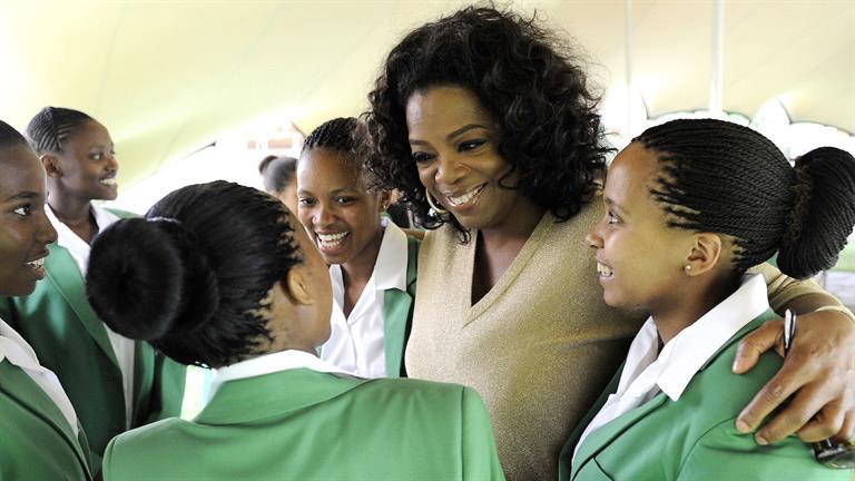 Most Famous Humanitarians Oprah Winfrey