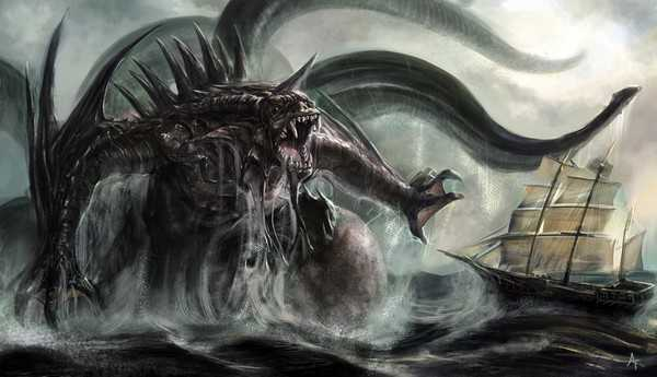 Top 10 Mythical Creatures Kraken